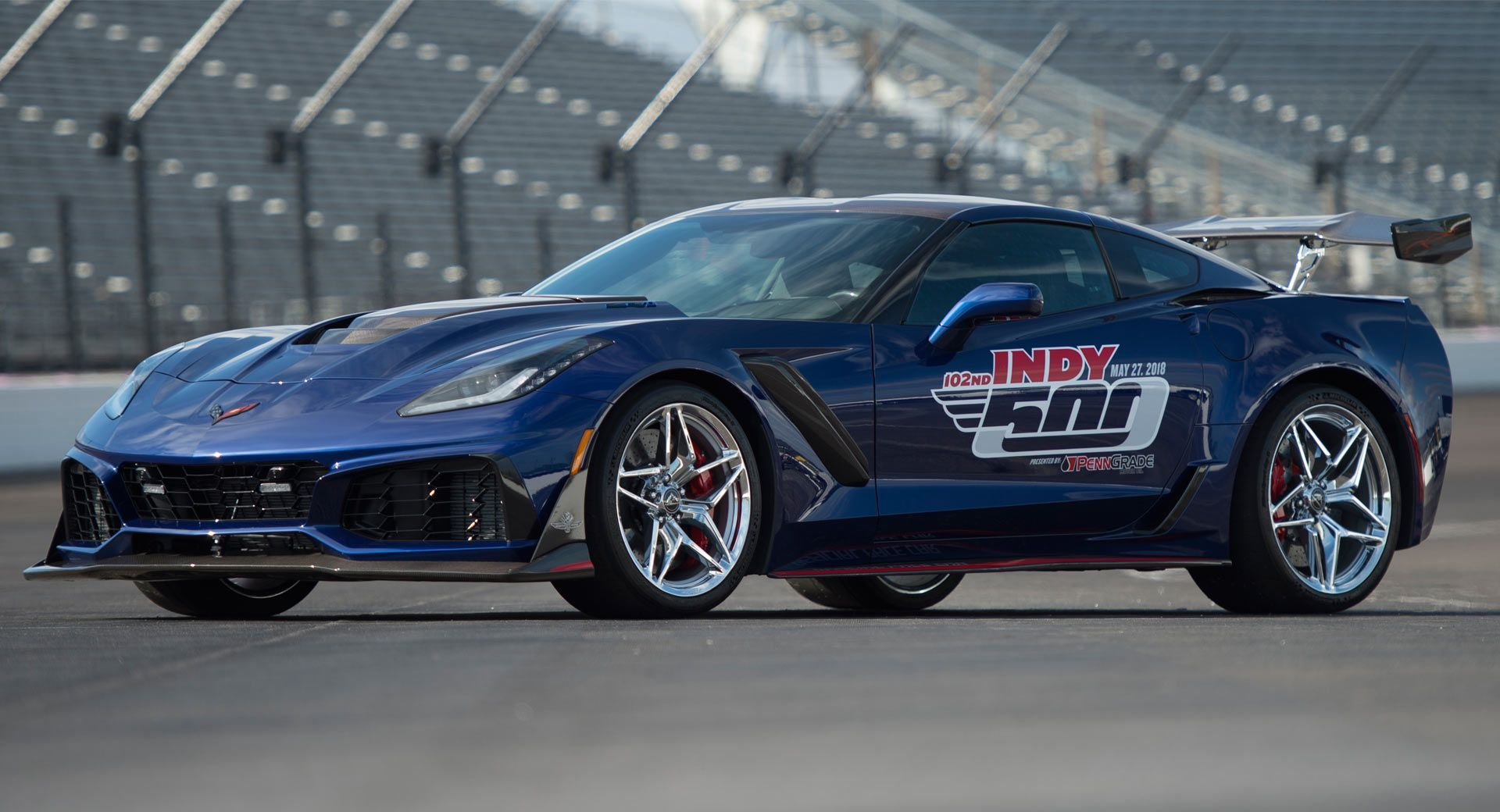 Corvette ZR1 Pace Car Unveiled For The 2018 Indianapolis