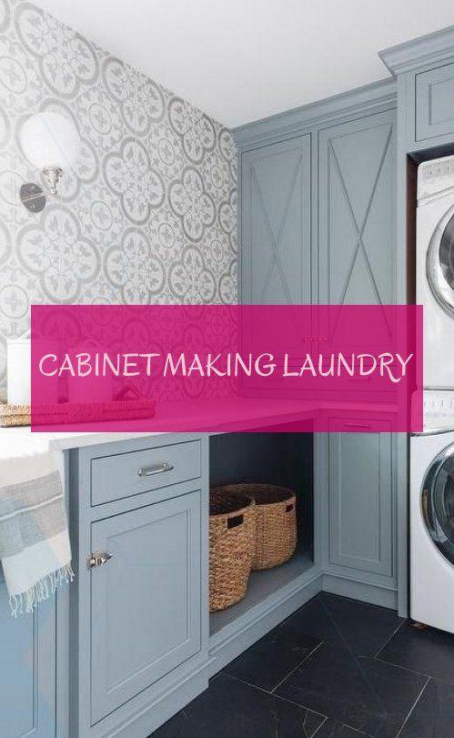 cabinet making laundry