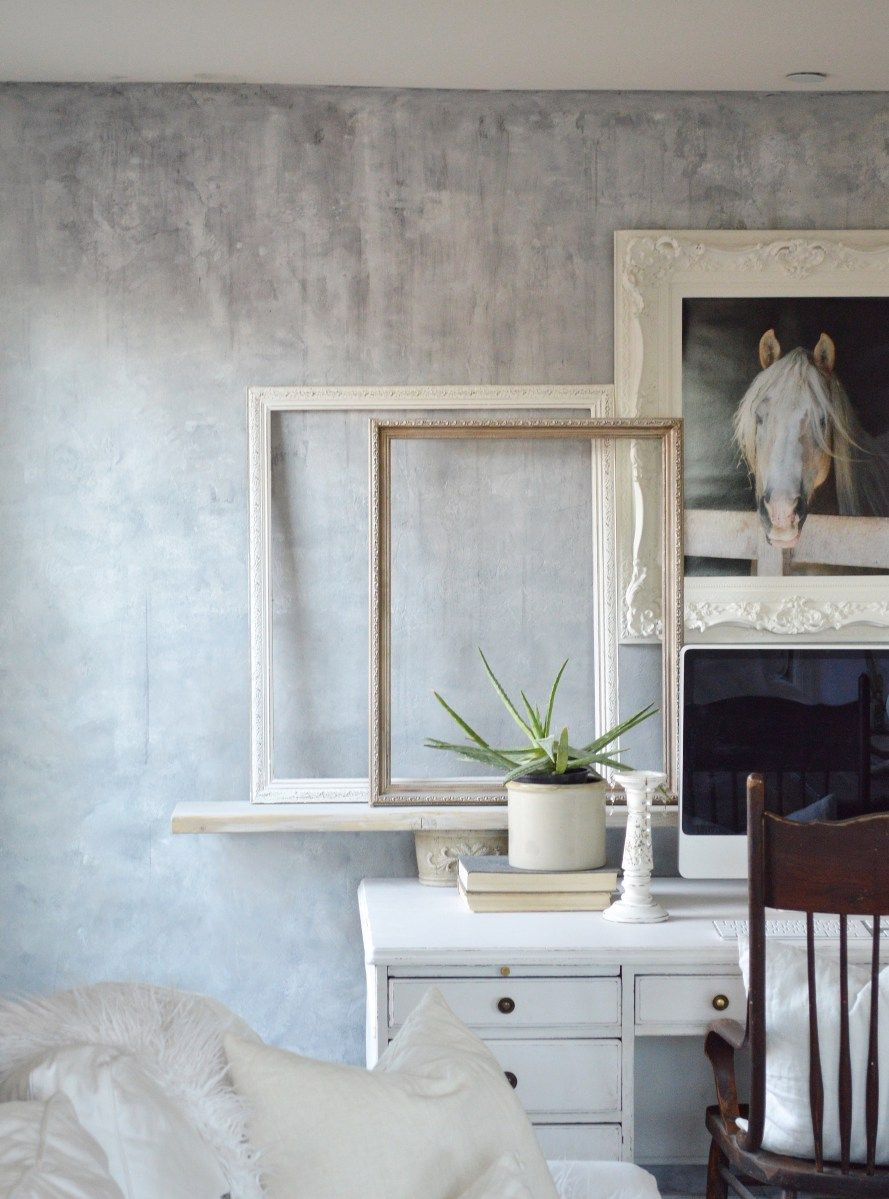 Painting A Wall To Look Like Concrete Faux Concrete Wall Concrete Walls Interior Concrete Walls Diy