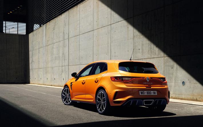 Download Wallpapers Renault Megane Rs 2018 Tuning Megane