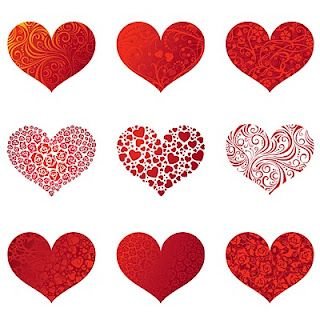 5x5 Hearts (PNG file) by Shery K Designs