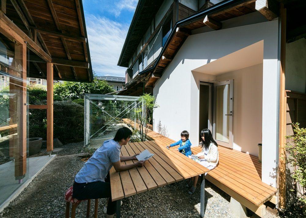 乙庭 Styleの建築と植栽のリノベーション 6つの小さな離れの家