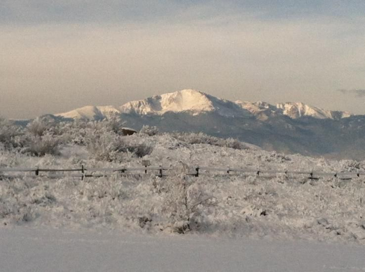 Pikes peak view from Colorado springs