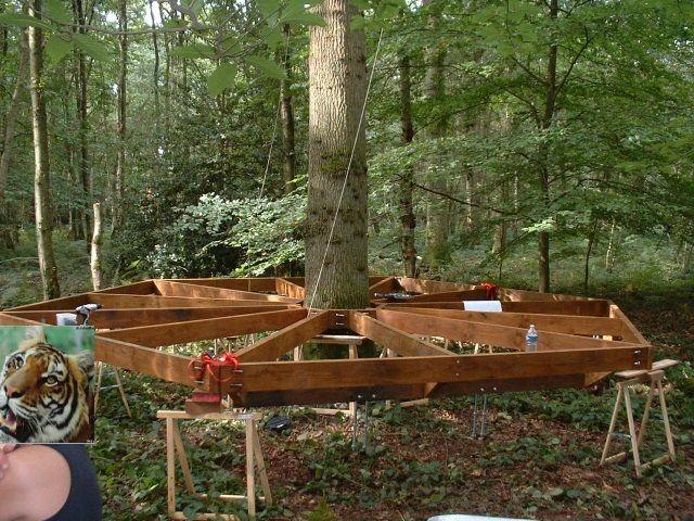 cabanes dans les arbres fixations recherche google cabane en bois dans les arbres. Black Bedroom Furniture Sets. Home Design Ideas