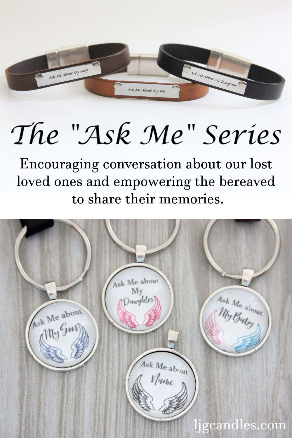 Encouraging conversation about our lost loved ones and
