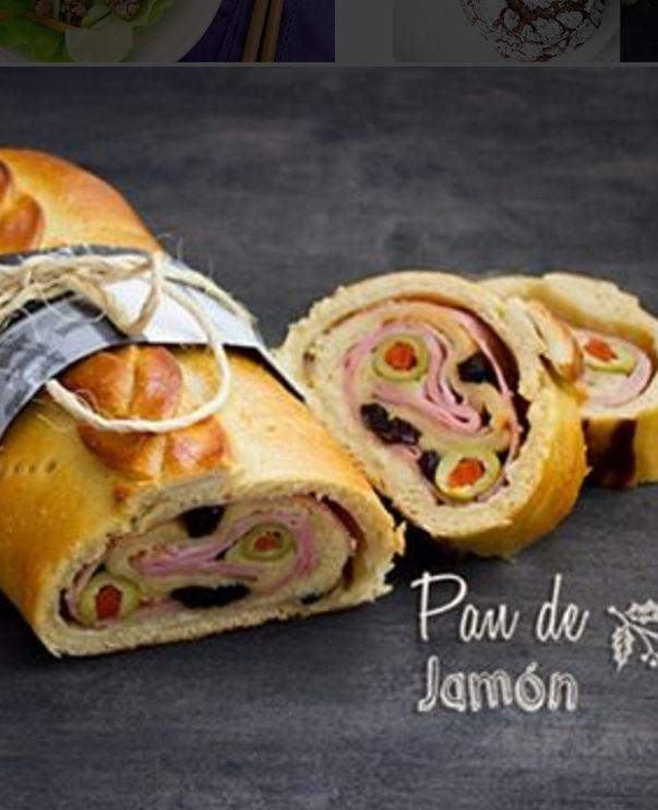 Pan de Jamon - Venezuelan Ham and Olive Bread