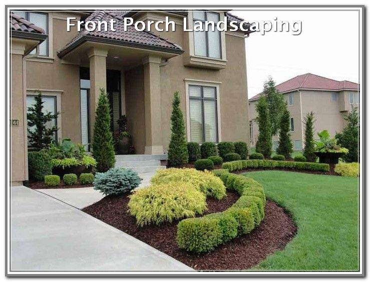 Improvised Your Landscaping With These Ideas Landscaping Lovers Residential Landscaping Small Front Yard Landscaping House Landscape