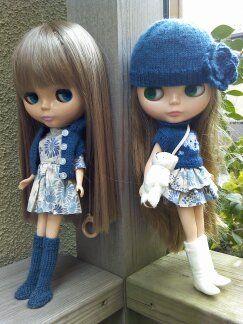 Okay, the dolls are beyond creepy, but Ilike the pic idea!