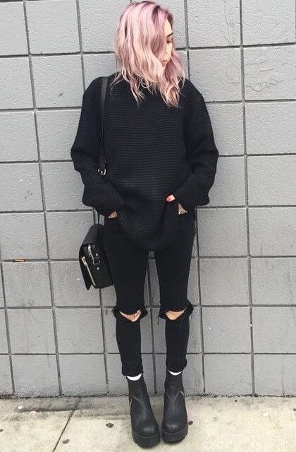Photo of 25 More Dark Grunge Looks to Check Out