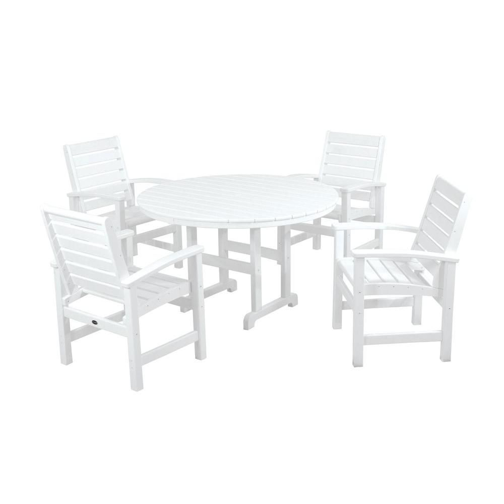 37++ Home depot polywood dining set Best
