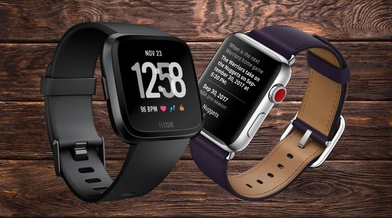 Apple watch series 4 vs fitbit versa the battle of the