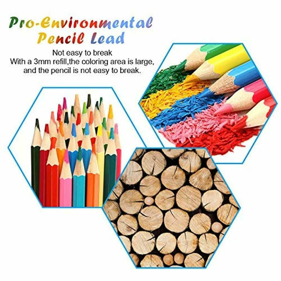 Watercolor Pencils Professional Watercolor Pencils Set 48 Colored