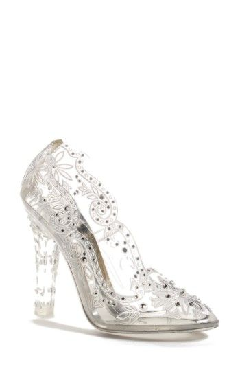 40719c86e2 Free shipping and returns on Dolce Gabbana  Glass Slipper  Pump ...