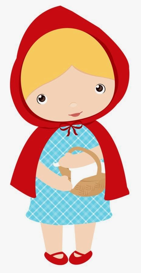 fantoches para hist ria chap uzinho vermelho scrap and clip art rh pinterest com au little red riding hood clipart pictures red riding hood clipart free