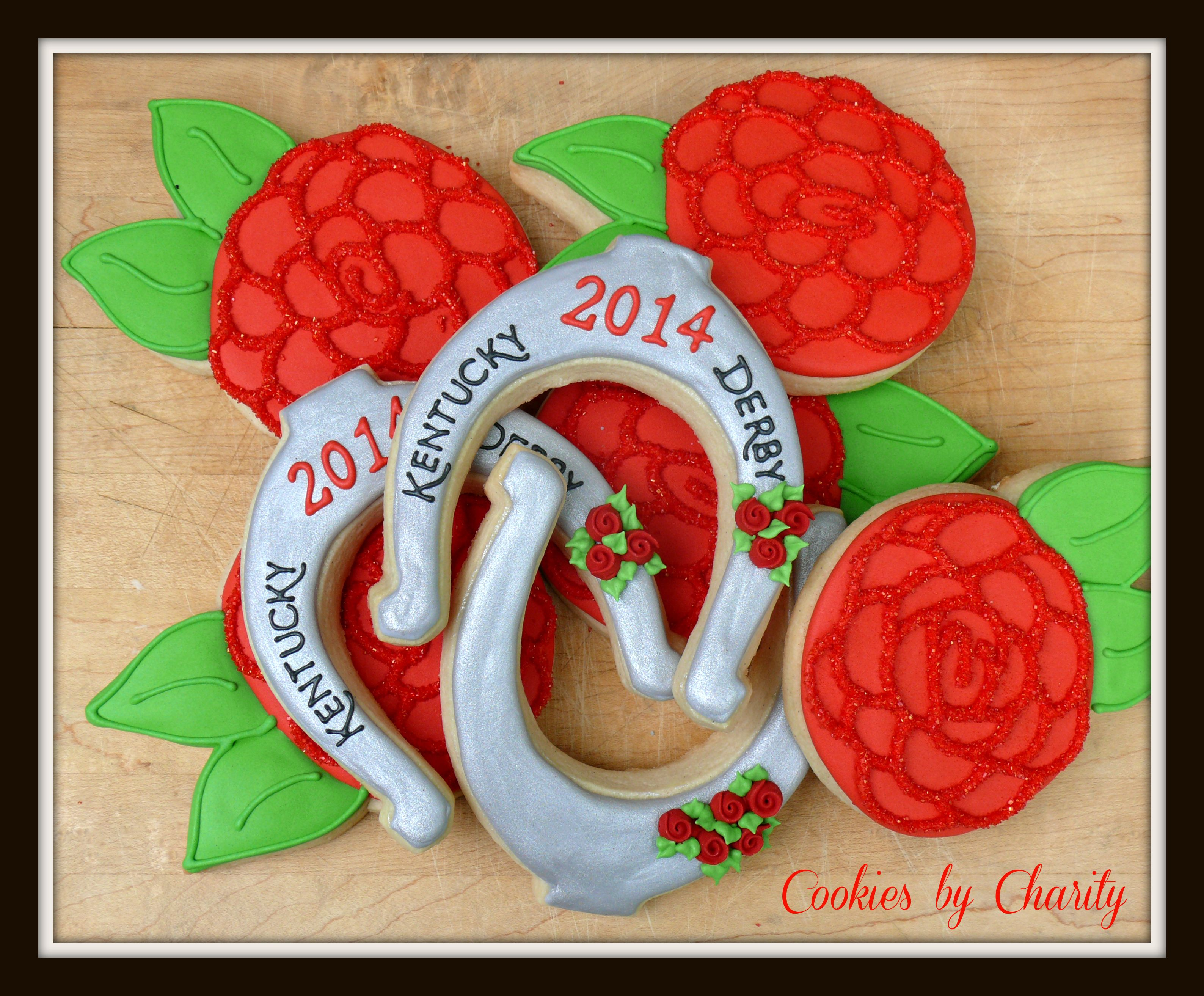 Decorated Cookies For The Kentucky Derby Run For The