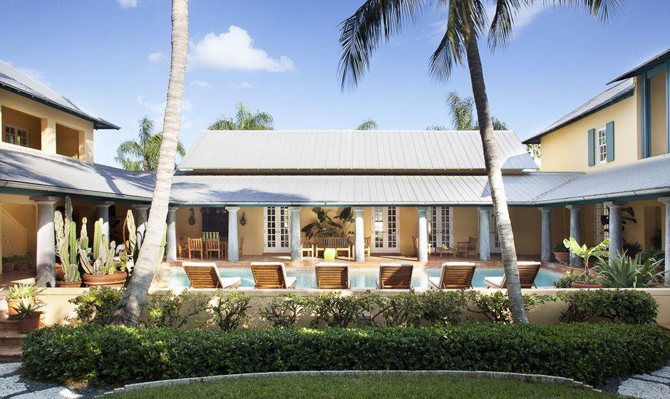 Garden And Pool Courtyard Exterior Design Interior Architecture Residences