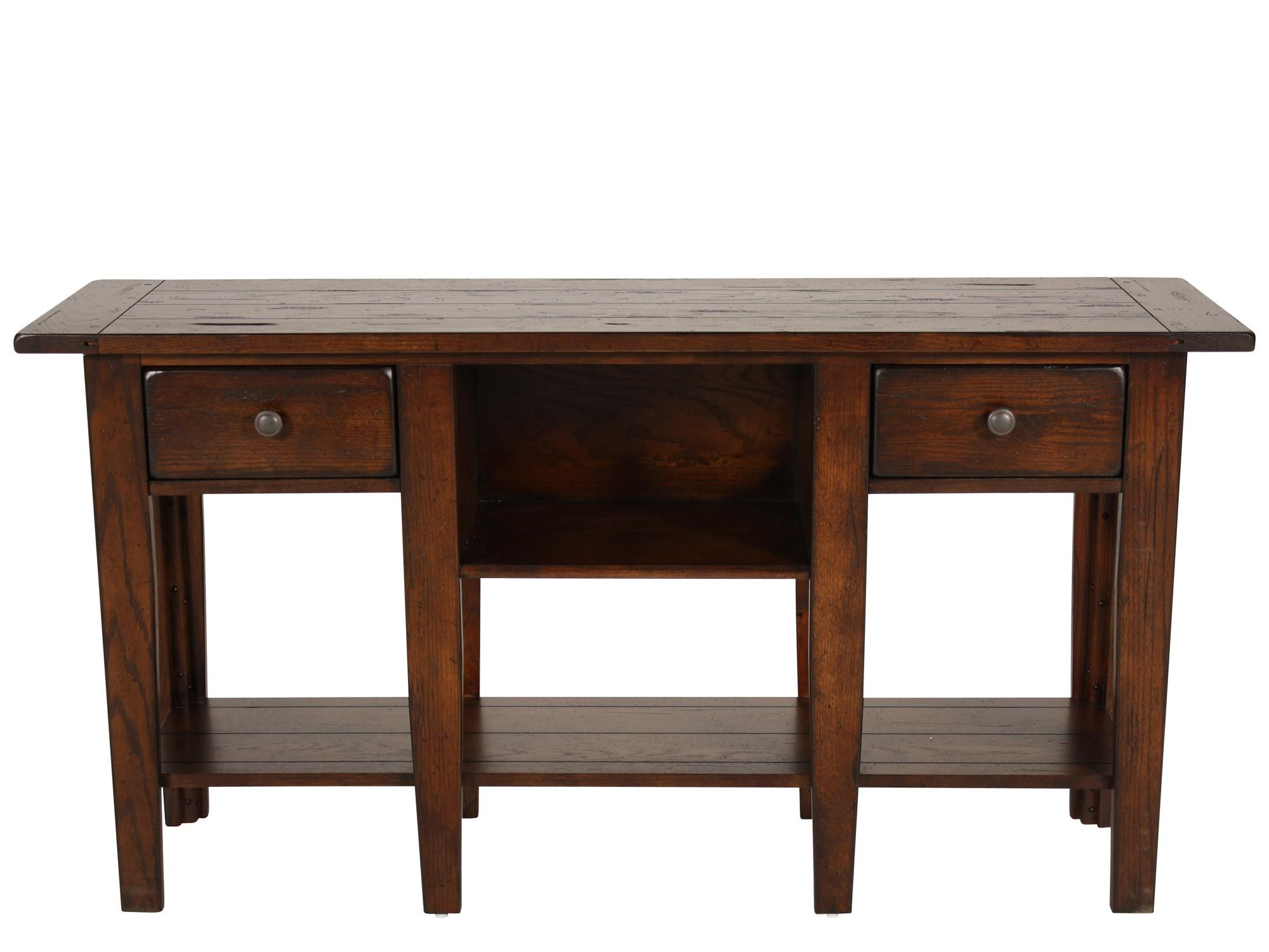 Broyhill Attic Heirlooms Rustic Sofa Table Rustic Sofa Tables Sofa Table Country Sofas