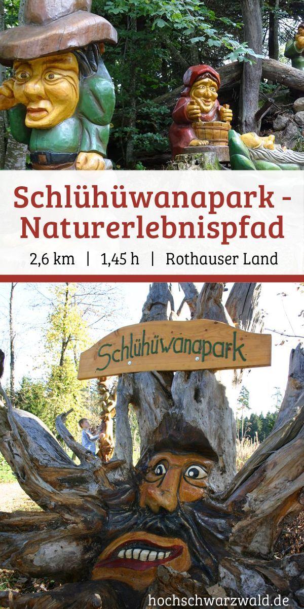 Schlühüwanapark - Naturerlebnispfad