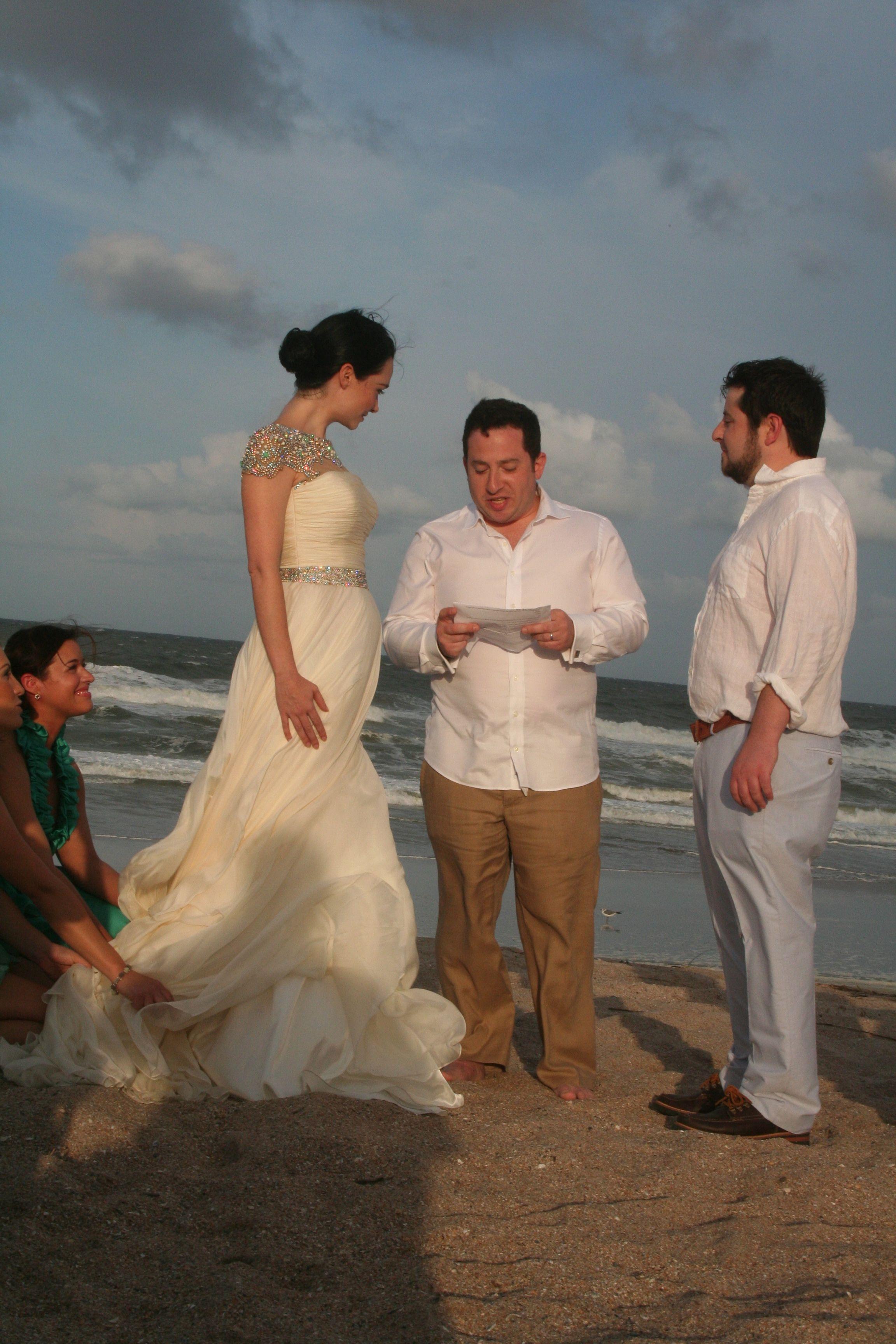 Kristen Ruhlin Beach Wedding, 2013, Beach Wedding, Rustic, Amelia Island, FL Wedding, Sand, Sherri Hill Dresses, Wedding Dress, Bohemian Wedding, Ocean
