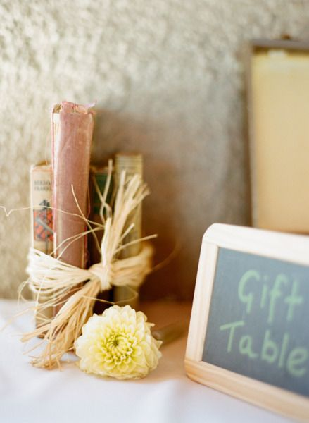 Gift Table.