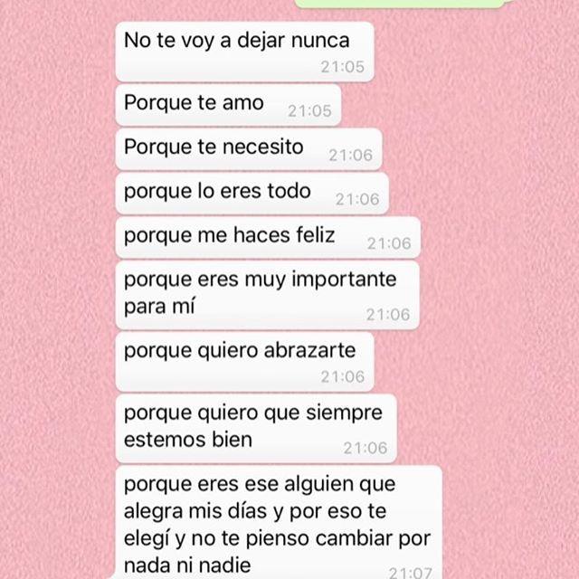 Pin De Mafe Ardila En Frases Mensajes De Texto Bonitos Mensajes De Texto Románticos Mensajes De Texto De Amor