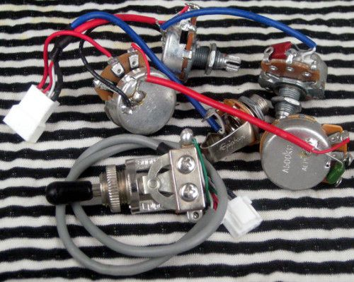epiphone les paul wiring harness alpha pots fit gibson ebay epq Gibson Guitar Wiring and epiphone les paul wiring harness alpha pots fit gibson ebay at Epiphone Les Paul Special Wiring Diagram