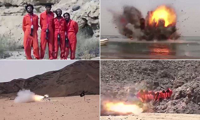 ISIS execution videos show hostages killed by explosive necklaces
