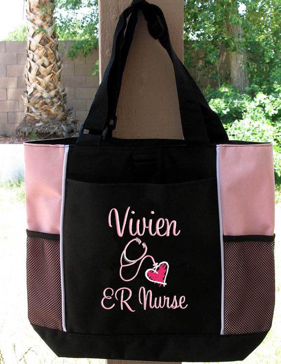 Tote Bag Personalized Er Rn Lpn Nicu Medical Assistant By Parsik93 24 99