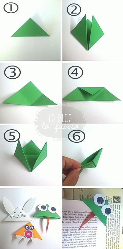 Come fare un segnalibro a cuore in origami   Fai da Te Mania