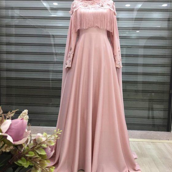 Moda Siesta Collection The Dress Musluman Modasi Siyah Abiye