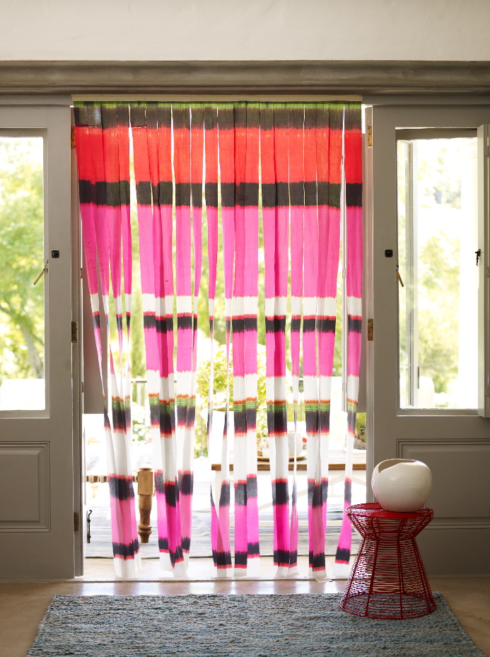 Curtain | Patterned | Striped | Fabric | Summer | Livingetc | Home ...