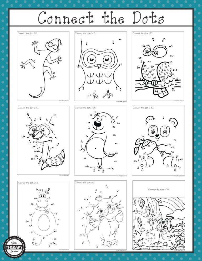 Dot to Dot 110 and 120 Freebies Connect the dots, Get