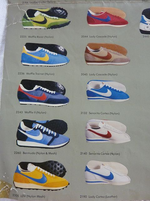 reputable site 77520 277a1 Nike 1980 Shoe Show. I started junior high in 1980 and I absolutely had to  have Nikes for P.E., white with the blue swoosh.