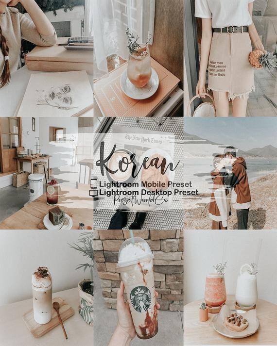 5 Korean Tones Lightroom Preset/Neutral Tone/Lightroom Mobile and Desktop/VSCO Inspired Preset/Instagram Preset/Blogger Preset/Indoor Preset