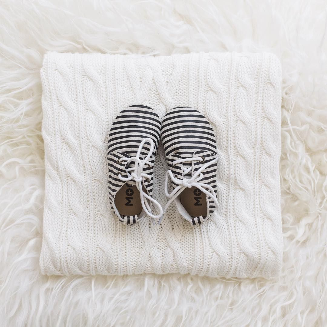 """""""Eeep these precious little lace ups from @moc_baby_moccasins arrived in the mail today and they are soooo darn cute! So cute they deserve all eyes and all…"""""""