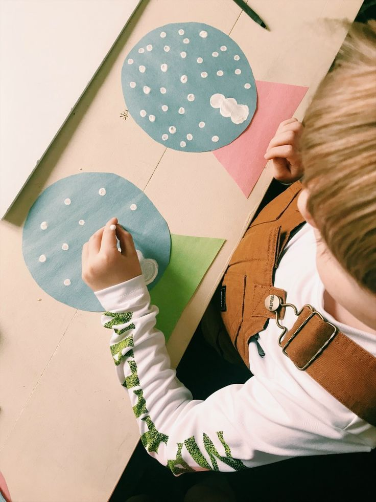 Snow Globe Winter Art Project For Kids is part of Cool Kids Crafts Creative - This Snow Globe winter art project for kids was so fun and they have displayed their crafts on their bedroom doors  This is an easy and fun craft with little mess!