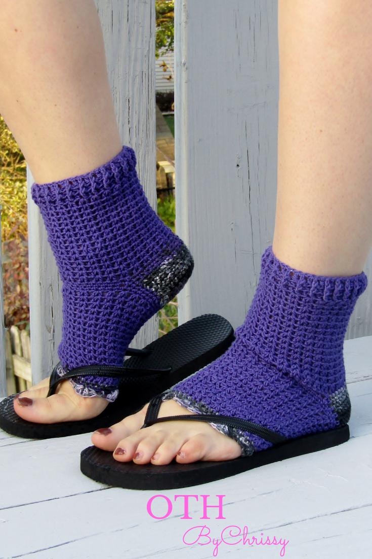 Pedicure Socks Flip Flop Socks Toe Less Socks Yoga Socksgift For