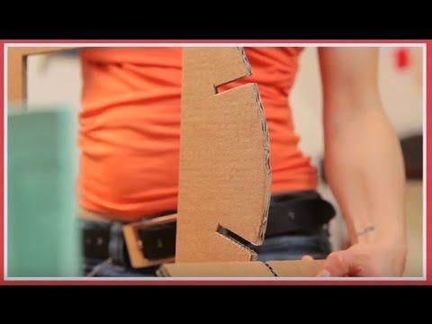 Meubles En Carton Chapitre N 9 Encoches Poutres Savoir Comment Emb Meuble En Carton Mobilier De Salon Carton