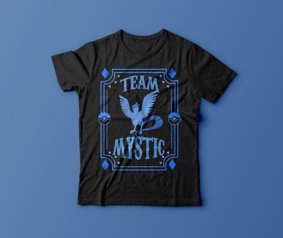0f2215f9 Team Mystic Blue Team Gym Unisex Shirt Top by TheRaesPrints ...