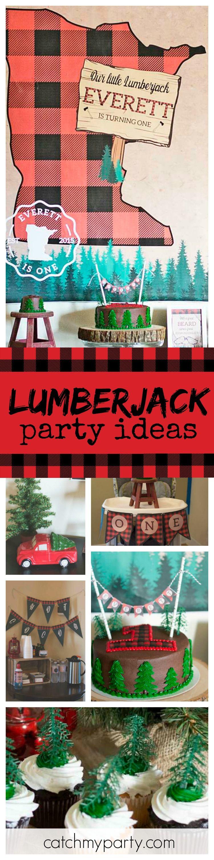 Lumberjack Birthday Minnesota First