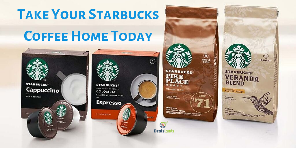 Now you can recreate your favorite Starbucks Coffee☕️ at