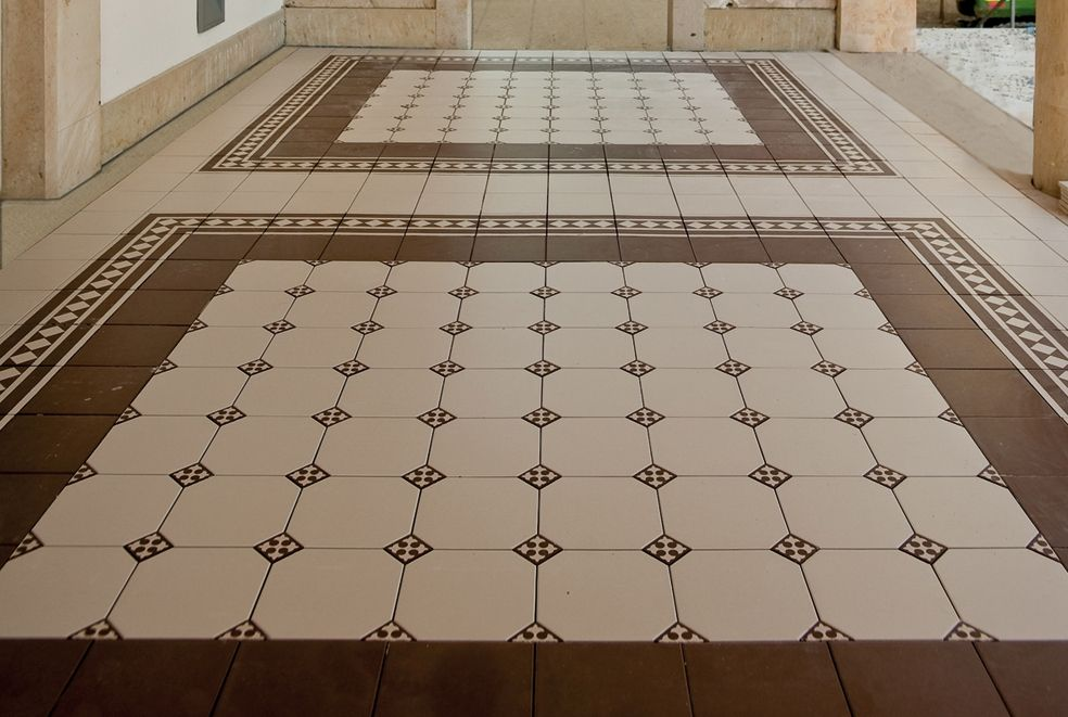 Kitchen Deisgnated Areas In Tiling Tile Design Pattern Living Room Tiles Tile Floor