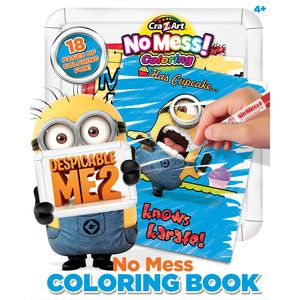 No Mess Coloring Book - just-useful.com