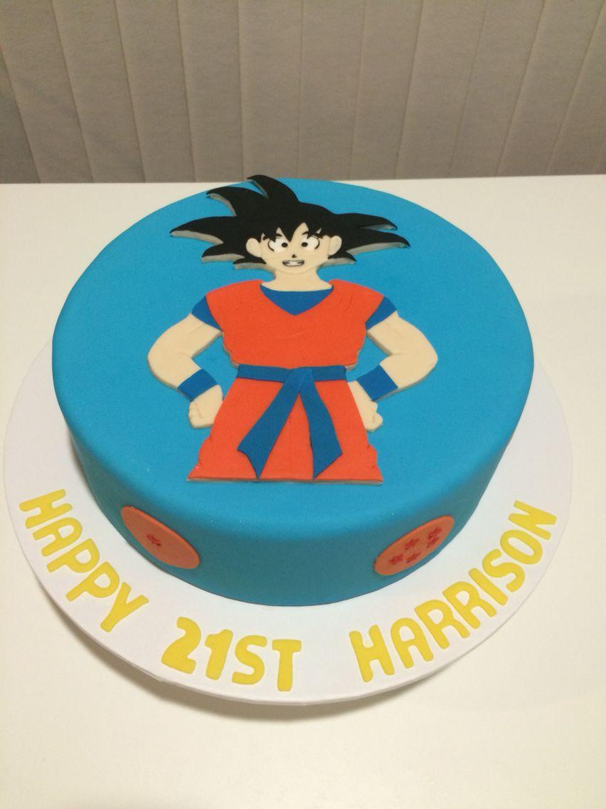 Guko Dragon Ball Z Cake Cake Cupcake Tutorial Baking