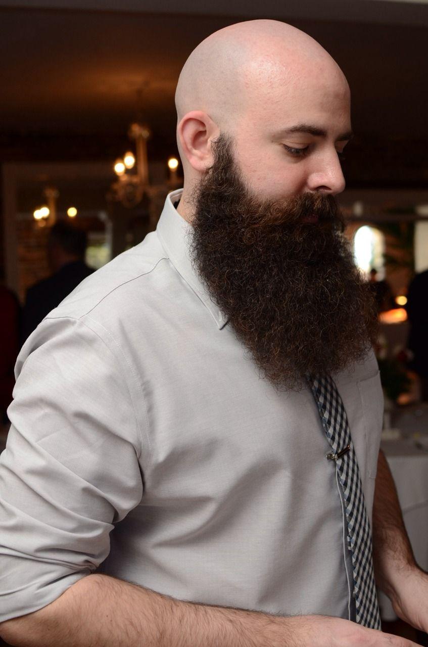 Glatze Vollbart