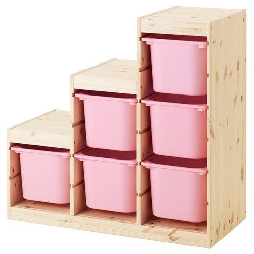 TROFASTstorage-unit  sc 1 st  Pinterest & TROFASTstorage-unit | Kidu0027s room | Pinterest | Ikea storage ...