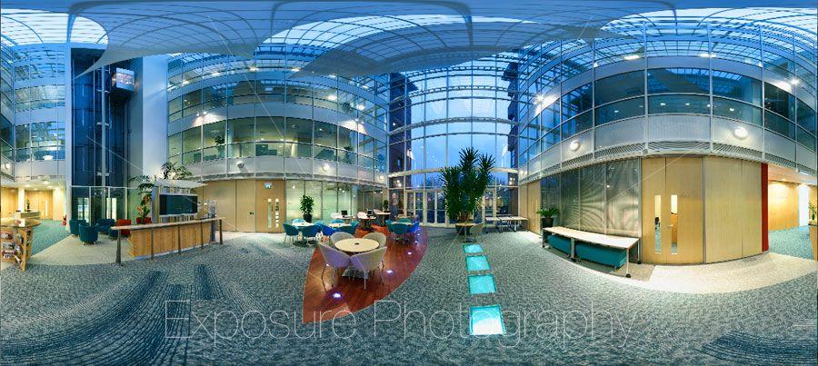 Clarke Willmott Bristol Office building interior, 360° panoramic photography