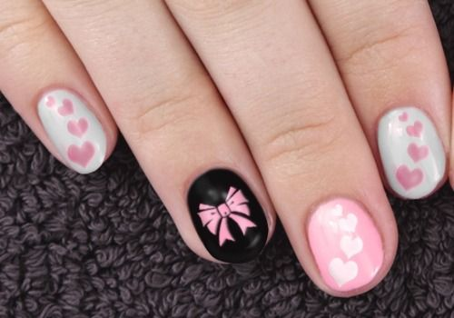 26 adorable bow nail art designs and step by step tutorial bow 26 adorable bow nail art designs and step by step tutorial prinsesfo Gallery