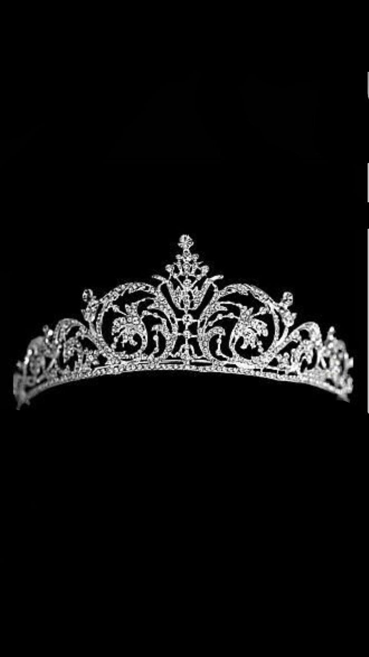 Princess Crown Quincenerra Black And White Image