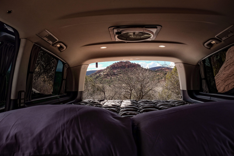 Mercedes Metris Passenger Van Turned Into Campervan With Queen